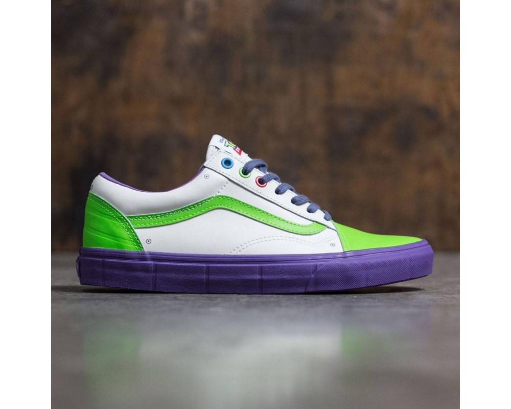b54ecc639a Back Vans x Disney Pixar Toy Story Men Old Skool - Buzz Lightyear  (VN01Z9M4X)